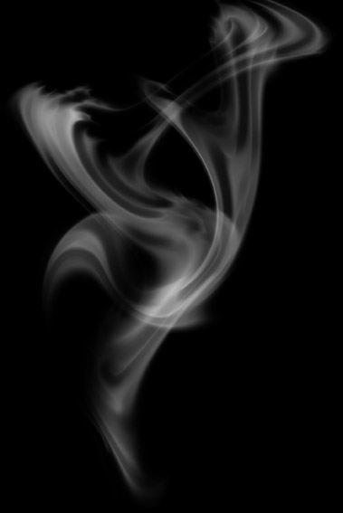 Photoshop制作缭绕的烟雾