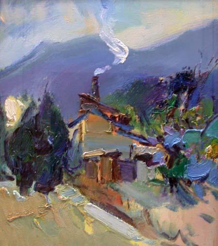 中国当代油画家作品联合展览开幕