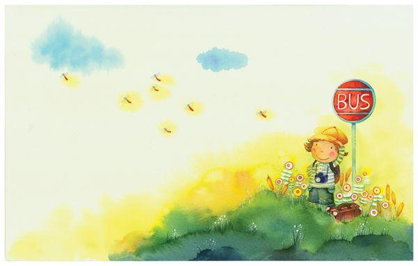 韩国likeyou5014可爱儿童插画