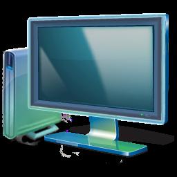 Vista风格显示器图标png 素材专题 创意在线