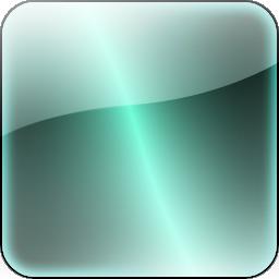 幻彩水晶质感按钮透明png图标图片