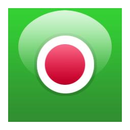 绿色水晶圆形常用图标