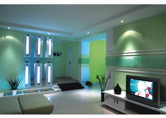 客厅电视墙效果图 室内设计装修效果图欣赏 3
