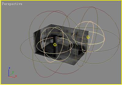 用3dsmax制作带影子或光斑的贴图