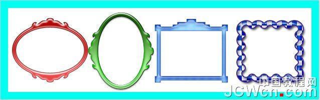 photoshop教程 教你给照片加上漂亮的水晶相框