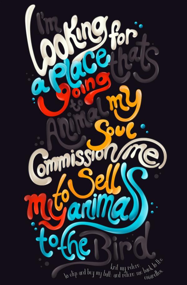 国外一组优秀的文字设计欣赏-欣赏-创意在线
