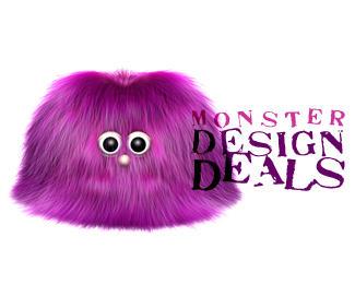 16个可爱小怪兽创意logo设计