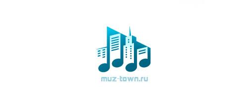 音乐主题logo设计欣赏