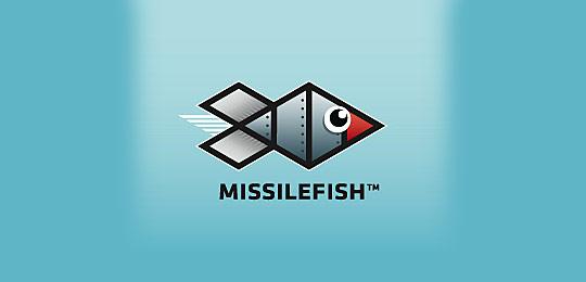 67个包含水下动物的创意logo设计(二)