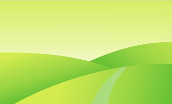 绿色卡通底纹
