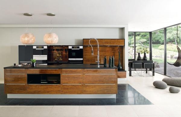 装修效果图 现代厨房设计欣赏