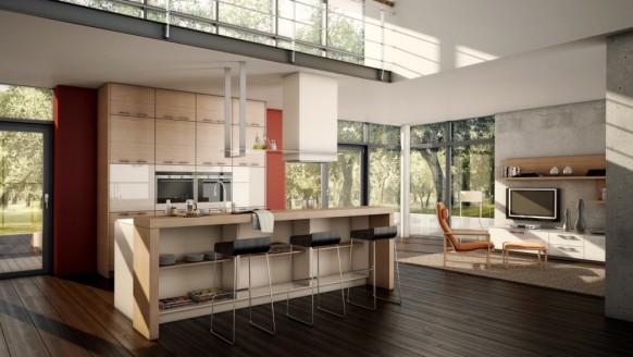 国外大气的厨房设计-欣赏-创意在线