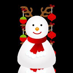 圣诞雪人png图标 素材专题 创意在线