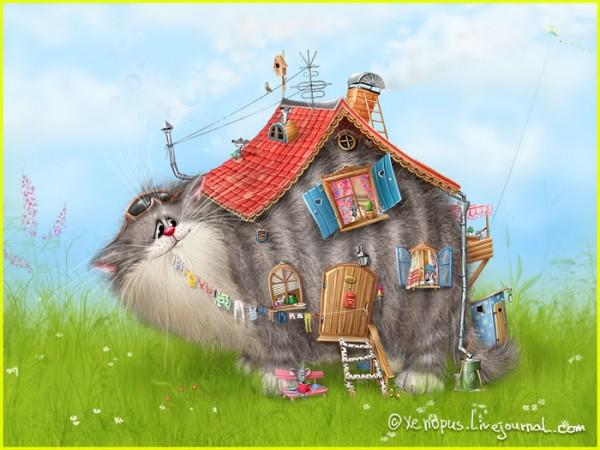 俄罗斯xenopus可爱动物插画