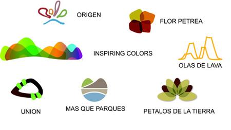 西班牙属加那利群岛国家公园新logo出炉