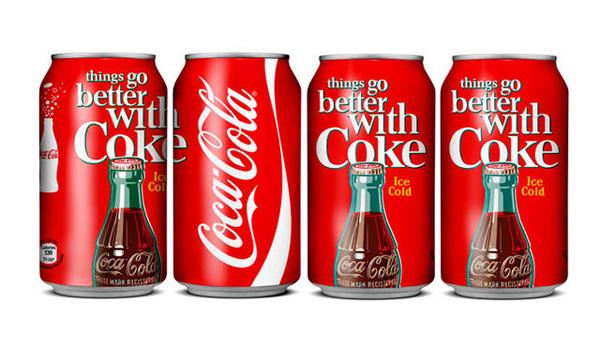 海报版可口可乐125周年纪念装
