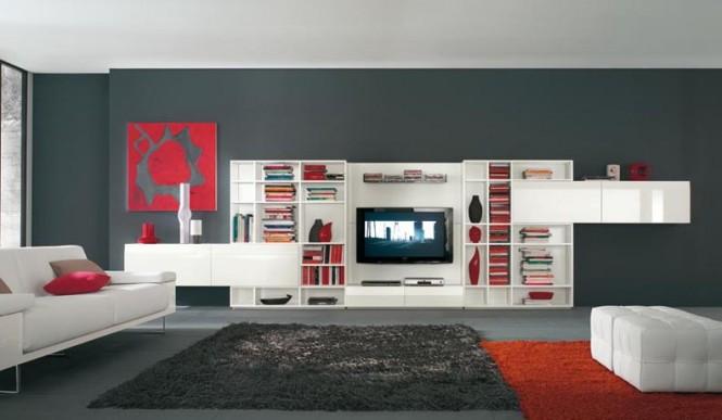 国外现代电视墙设计欣赏