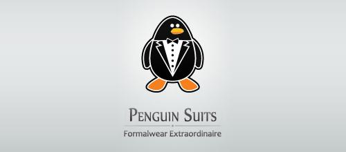 动物标志之企鹅