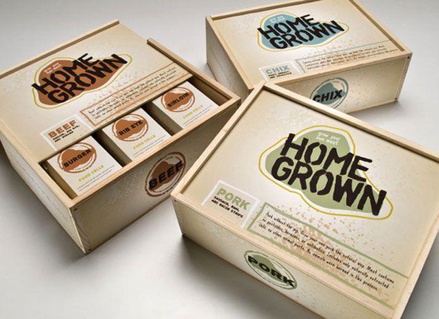 国外肉类食品包装设计-欣赏-创意在线