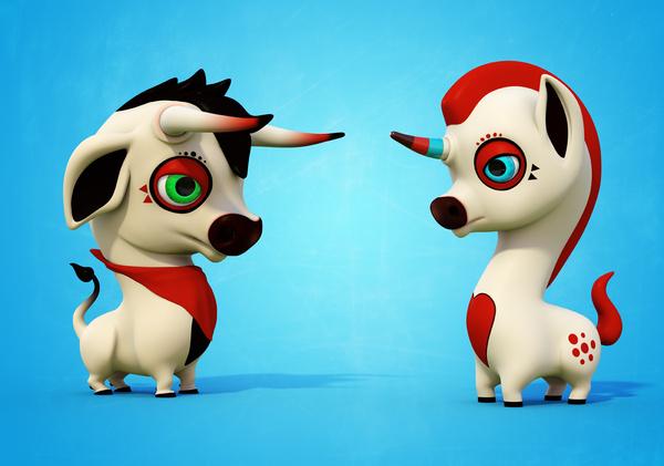 三维动画角色设计-欣赏-创意在线