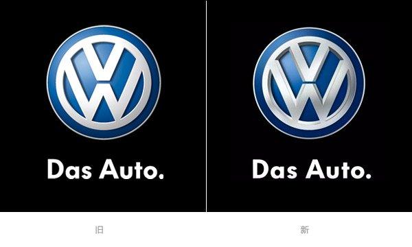 大众汽车Logo调整