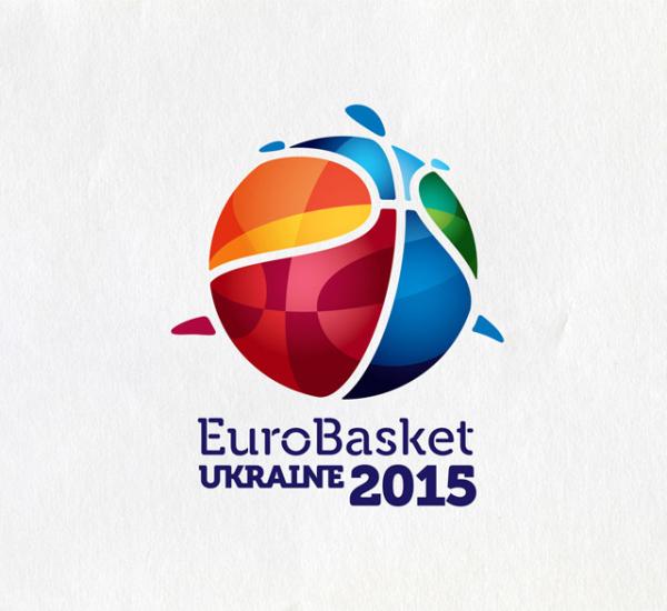 2015年乌克兰欧洲篮球锦标赛视觉设计欣赏