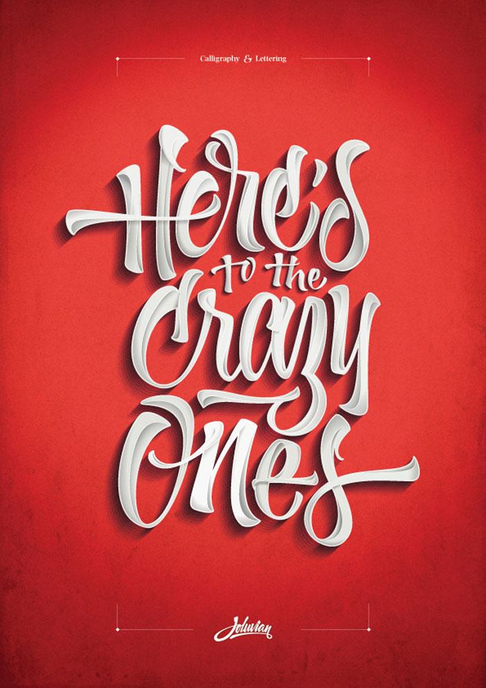 国外创意字体海报设计-欣赏-创意在线
