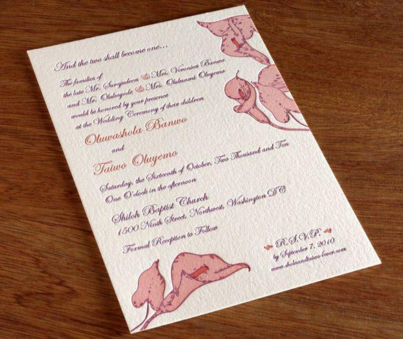漂亮的国外结婚贺卡设计-欣赏-创意在线