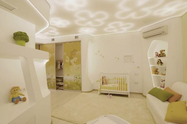 未来风格的时尚复式公寓设计