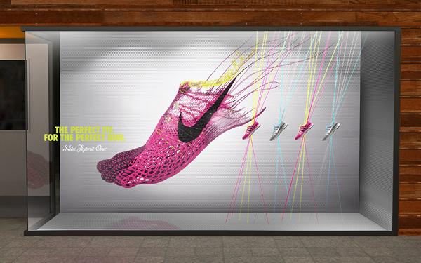 耐克球鞋海报