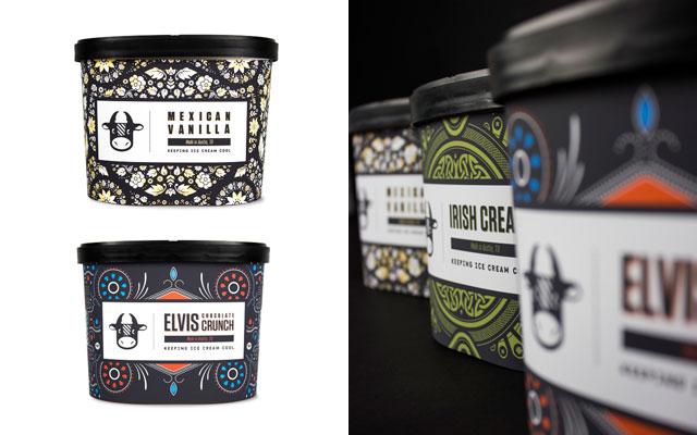 创意冰淇淋包装设计图片
