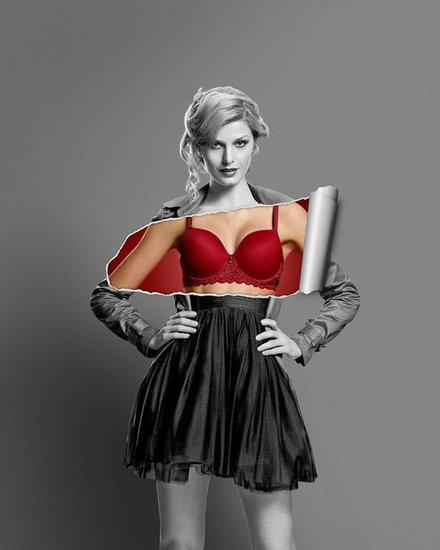 瑞士设计师经典创意广告图片