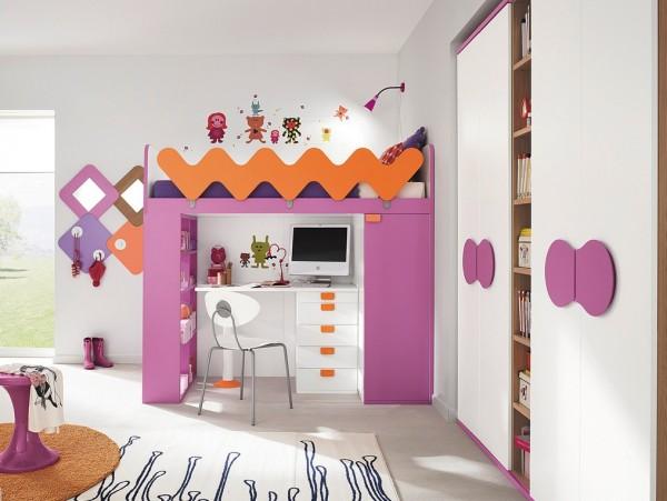 现代风格的儿童卧室设计效果图欣赏