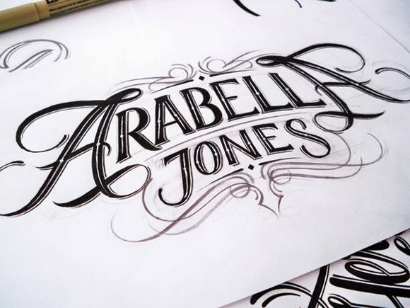 国外创意手绘字体设计-欣赏-创意在线