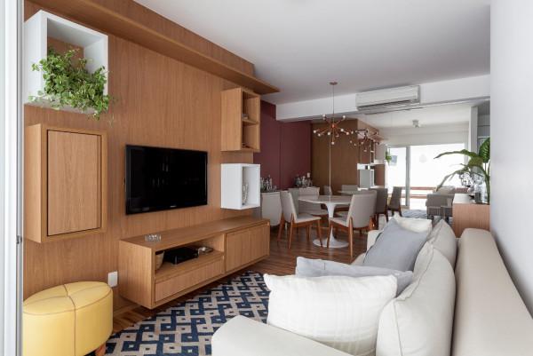 圣保罗84平米温馨三居室装修设计